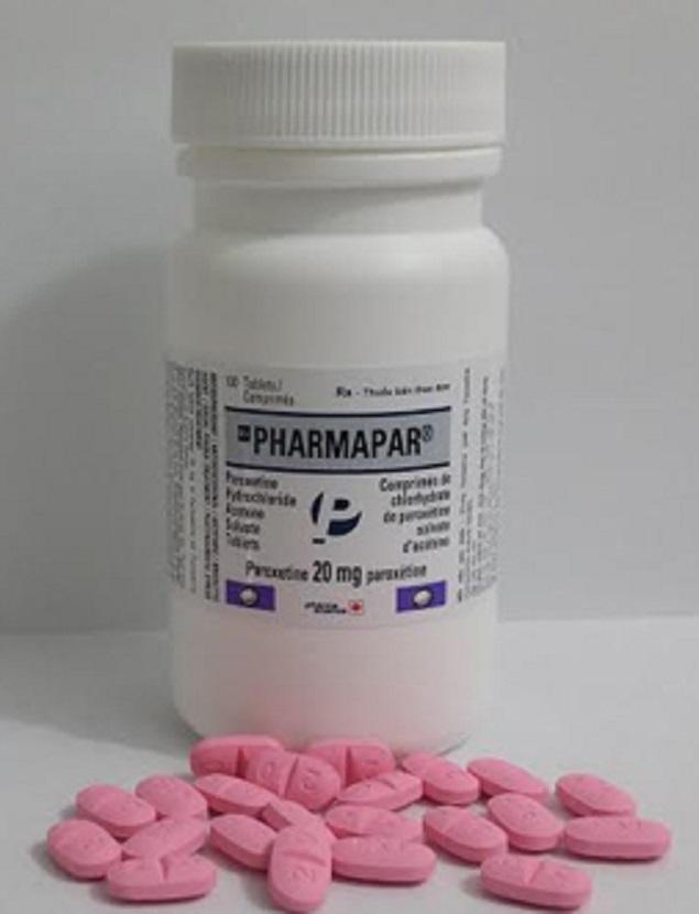Thuốc Pharmapar 20mg Paroxetine base điều trị trầm cảm, rối loạn lo âu tổng quát