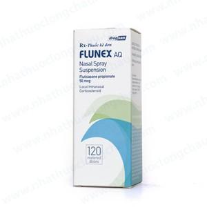 Thuốc Flunex AQ 0,05mg Fluticasone propionate dự phòng và điều trị chứng viêm mũi dị ứng