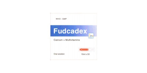 Thuốc Fudcadex 10ml điều trị thiếu canxi, loãng xương sau mãn kinh