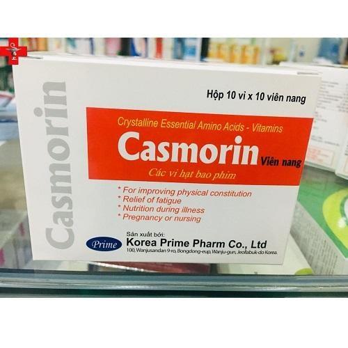Thuốc Casmorin bổ sung dinh dưỡng, phòng và trị các bệnh do thiếu hụt vitamin