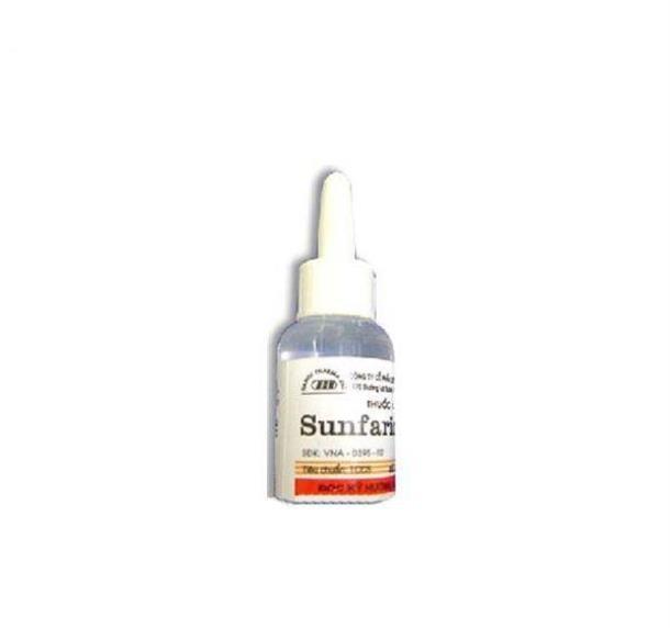 Thuốc Sulfarin 8ml Ephedrine điều trị sưng huyết mũi thường đi kèm bởi các bệnh cảm lạnh, viêm dị ứng, viêm mũi, viêm xoang