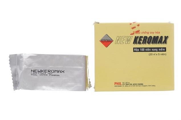 Thuốc New Keromax thuốc chống oxy hóa