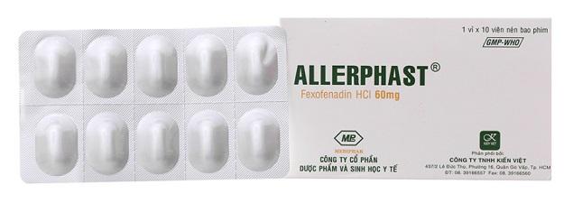 Thuốc Fexmebi 60mg Fexofenadine hydrochloride giảm các triệu chứng của bệnh viêm mũi dị ứng theo mùa