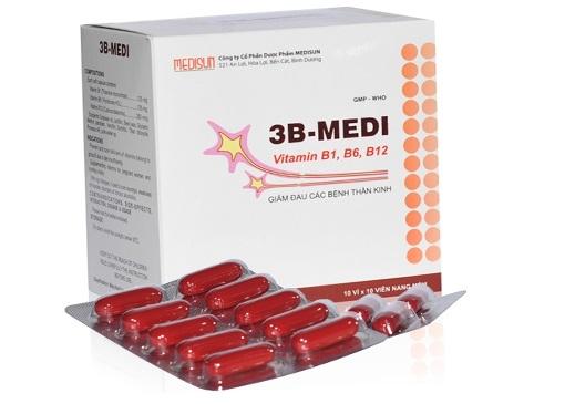 Thuốc 3B-Medi tab dự phòng và điều trị thiếu vitamin nhóm B