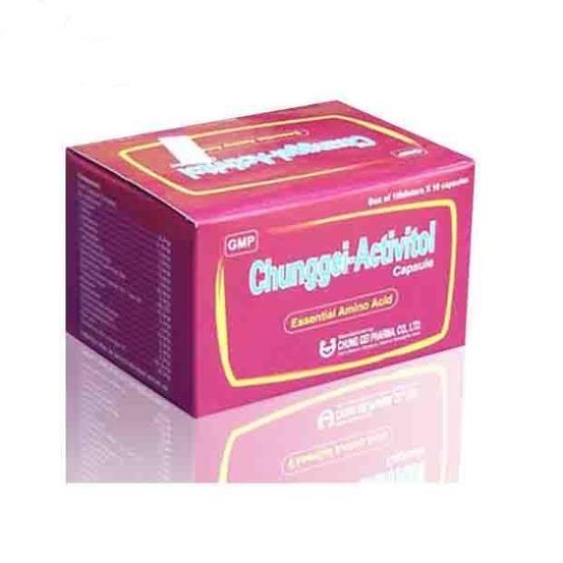 Thuốc Chunggei-Activitol cung cấp dinh dưỡng và bồi bổ dưỡng cơ thể yếu, hay mệt mỏi