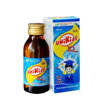 Thuốc Unikids IQ phòng và trị bệnh do thiếu vitamin
