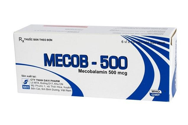 Thuốc Mecob 500mcg Mecobalamin điều trị các bệnh lý thần kinh ngoại biên