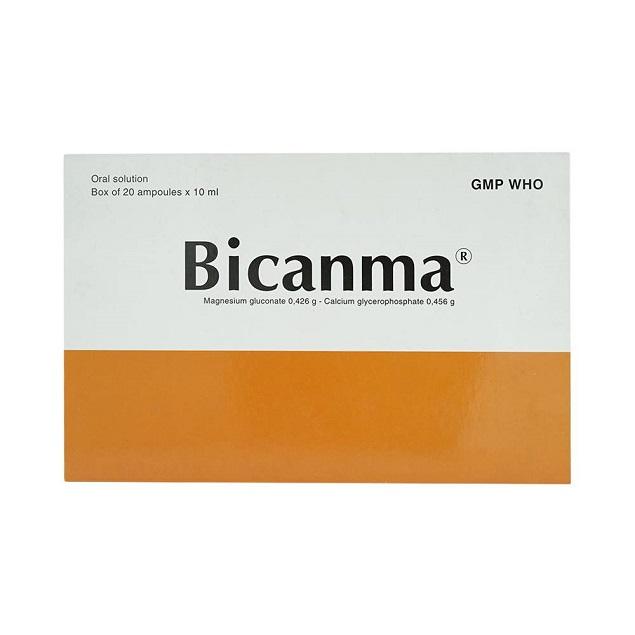 Thuốc Bicanma điều trị suy nhược chức năng