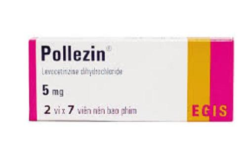 Thuốc Pollezin 5mg Levocetirizin dihydrochlorid điều trị các trường hợp dị ứng