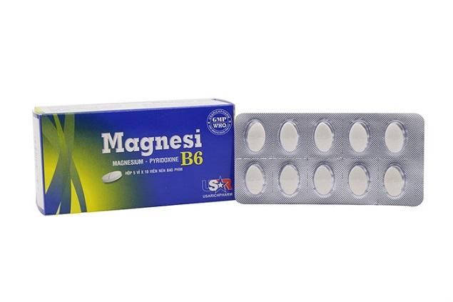 Thuốc Magnesi-B6 điều trị các trường hợp thiếu magnesi riêng biệt hay kết hợp