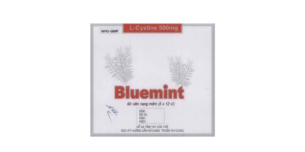 Thuốc Bluemint điều trị sạm da, tàn nhang