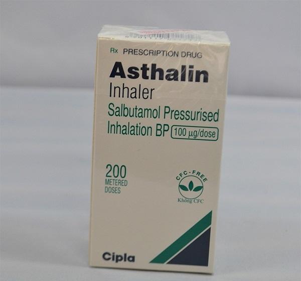 Thuốc Asthalin 100mcg/liều Salbutamol điều trị hen phế quản