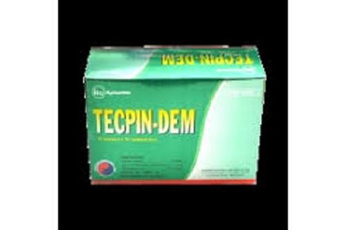 Thuốc Tecpin-dem điều trị các triệu chứng ho, long đờm