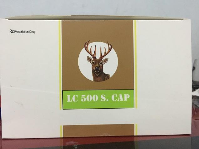 Thuốc LC-500 Soft Capsule điều trị các bệnh về da, tóc, móng, ngăn ngừa rụng tóc, gãy móng và phục hồi tổn thương giác mạc