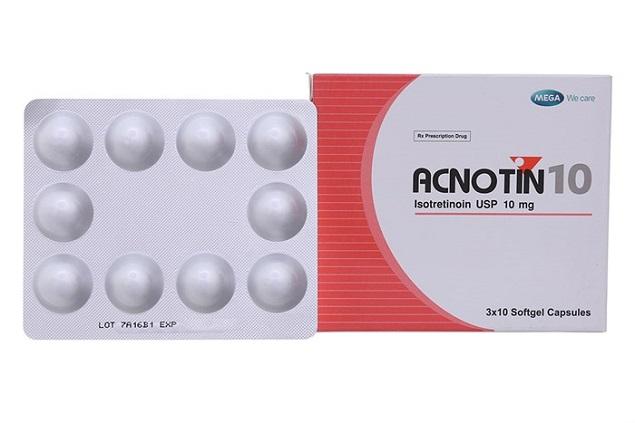 Thuốc Newmecoin 10mg Isotretinoin điều trị các dạng mụn trứng cá nặng