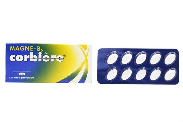 Thuốc Magnes-B6 điều trị các trường hợp thiếu Magnesi