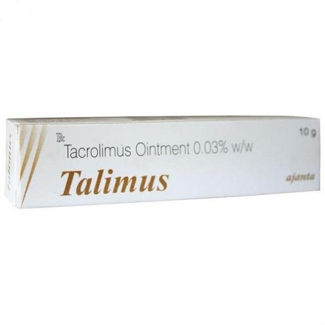 Thuốc Talimus 0,1% Tacrolimus điều trị ngắn hạn và dài hạn chàm thể tạng ở người lớn và trẻ em từ 2 tuổi trở lên