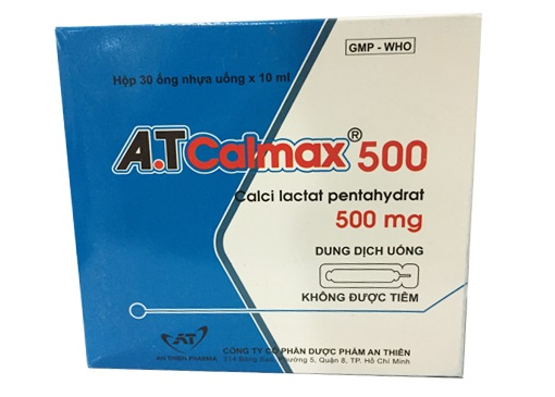 Thuốc A.T Calmax tăng nhu cầu calci ở phụ nữ có thai và cho con bú, trẻ trong giai đoạn tăng trưởng nhanh