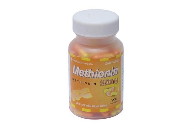 Thuốc Methionin 250mg trị quá liều paracetamol