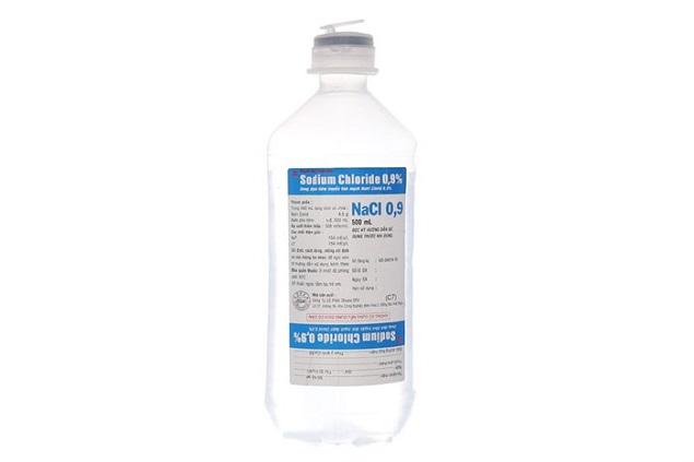 Thuốc Dextrose 5% and sodium chloride 0,9% bù nước và điện giải