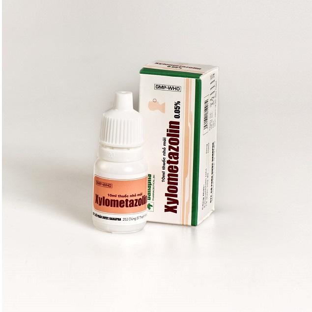 Thuốc Xylometazolin 0,05% điều trị viêm mũi