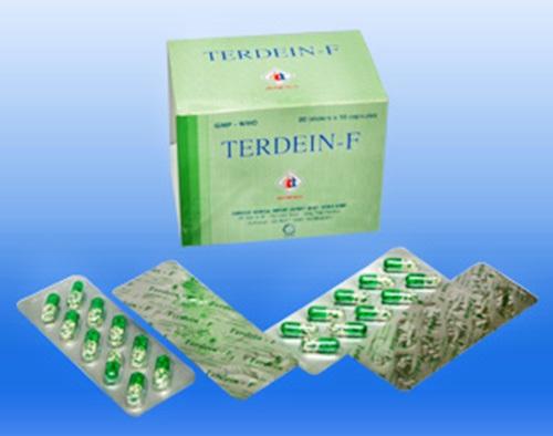 Thuốc Terdein F điều trị viêm phế quản