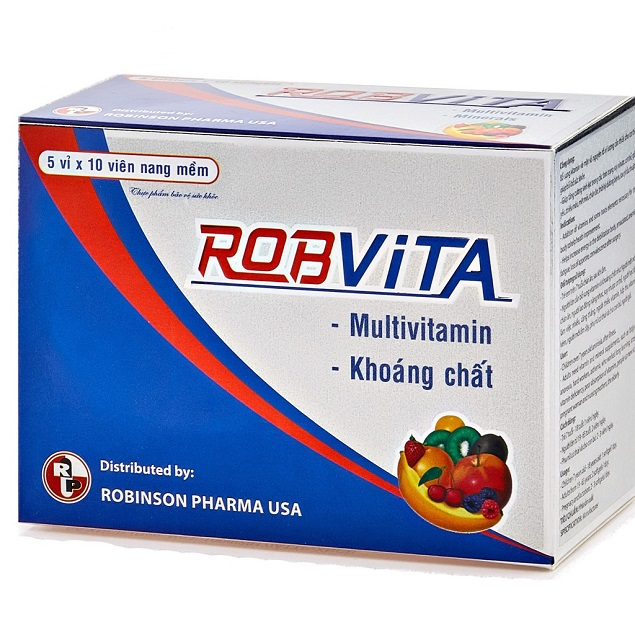 Thuốc Robvita C bổ sung vitamin và khoáng chất, tăng cường sinh lực