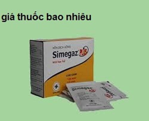 Thuốc Simegaz Plus điều trị viêm loét dạ dày - tá tràng