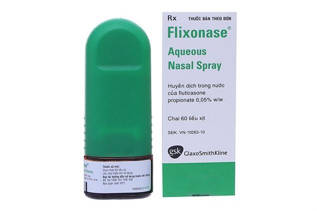 Thuốc Flixonase điều trị viêm mũi dị ứng