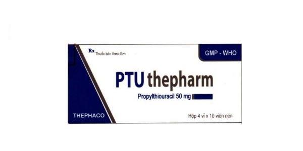 Thuốc PTU Thepharm 50mg Propylthiouracil điều trị tăng năng tuyến giáp