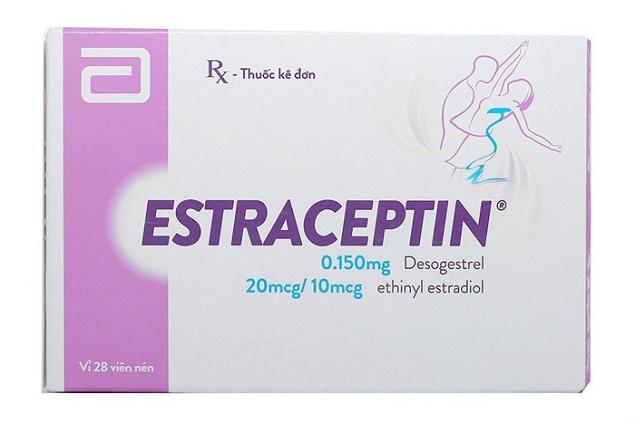 Thuốc Estraceptin tránh thai