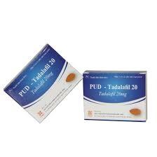 Thuốc PUD-Tadalafil 20 điều trị bệnh rối loạn cương dương
