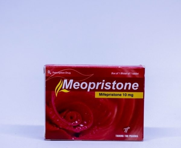 Thuốc Meopristone 10mg Mifepriston tránh thai khẩn cấp