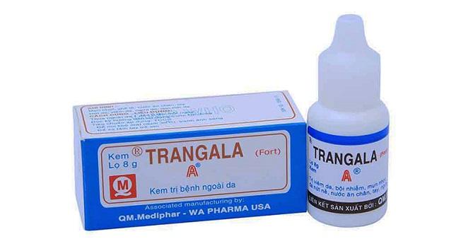 Thuốc Trangala kem bôi trị bệnh ngoài da