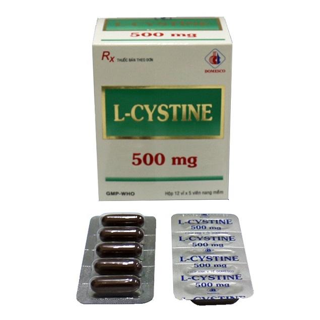 Thuốc L-Cystine 500mg làm đẹp cho da, tóc, móng