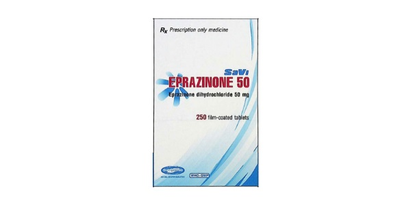 Thuốc Savi Eprazinone 50 làm lỏng các dịch tiết phế quản