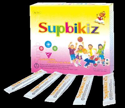 Thuốc Supbikiz giúp bổ sung chất dinh dưỡng ở trẻ, tăng cường khả năng hấp thu chất dinh dưỡng