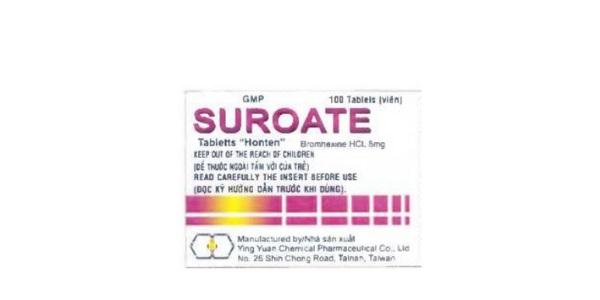 Thuốc Suroate Tablets