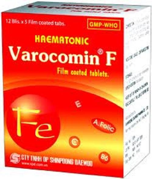 Thuốc Varocomin F phòng và điều trị thiếu vitamin C