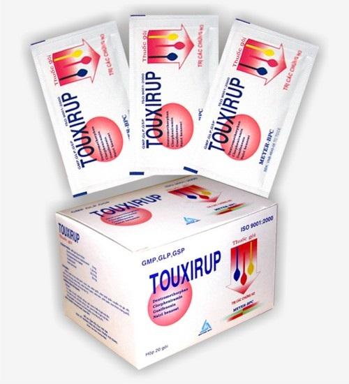 Thuốc Touxirup giảm ho
