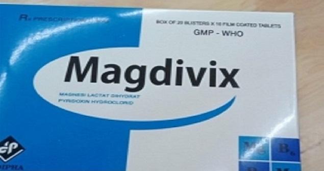 Thuốc Magdivix điều trị các trường hợp thiếu Magnesi