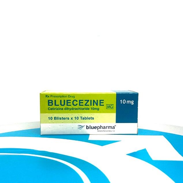 Thuốc Bluecezin 10mg Cetirizin dihydrochlorid điều trị dị ứng