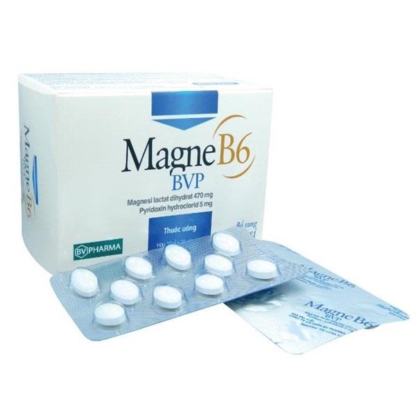 Thuốc Magne B6-BVP điều trị các trường hợp thiếu Magnesi