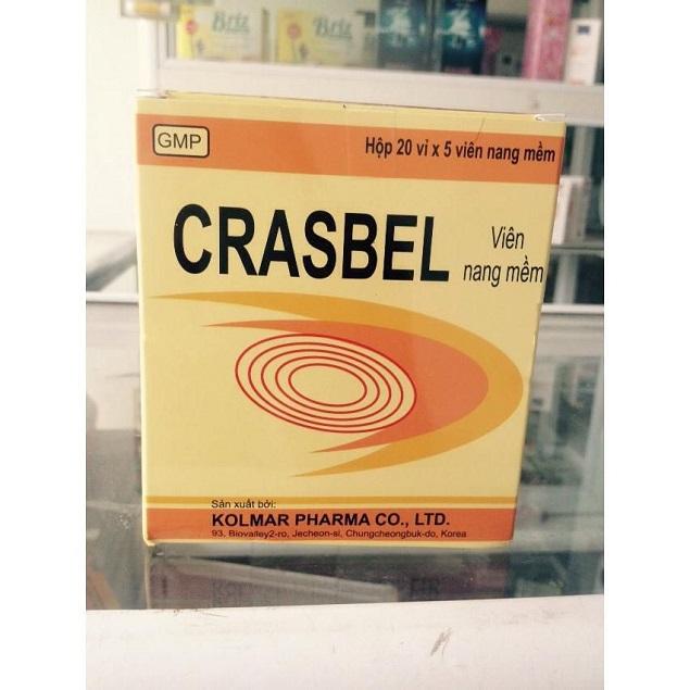 Thuốc Crasbel Soft Capsule phòng và điều trị thiếu vitamin C