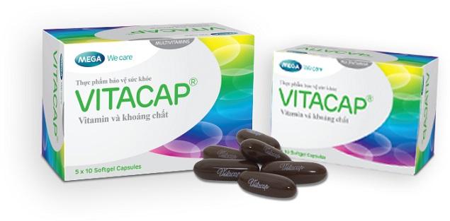 Thuốc Vitacap bổ sung vitamin và khoáng chất cho cơ thể