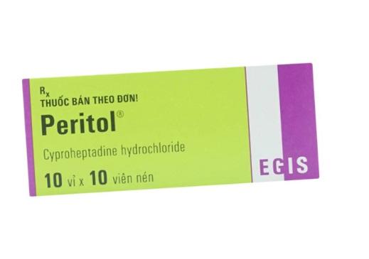 Thuốc Euronida 4mg Cyproheptadine hydrochloride chữa trị chứng dị ứng cấp hay mãn tính