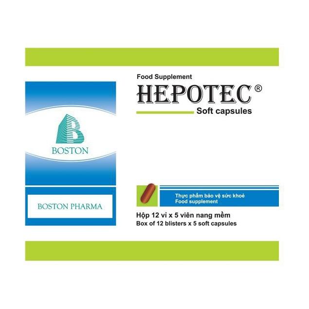Thuốc Hepotec điều trị rối loạn tiêu hóa, kém ăn, suy nhược cơ thể