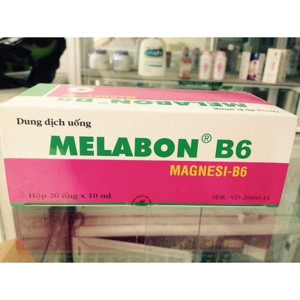Thuốc Melabon B6 điều trị các trường hợp thiếu magnesi riêng biệt hay kết hợp