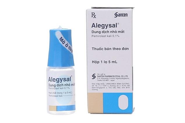 Thuốc Alegysal 1mg/ml Pemirolast kali chống dị ứng nhãn khoa