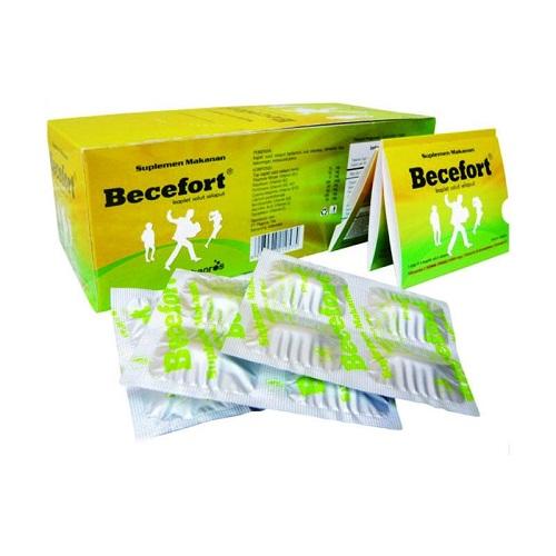 Thuốc Becofort điều trị các trường hợp thiếu Vitamin nhóm B, đau đầu, trẻ em suy nhược chậm lớn